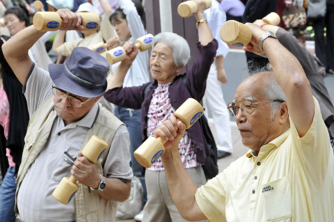 Картинки по запросу пожилые люди в Япония